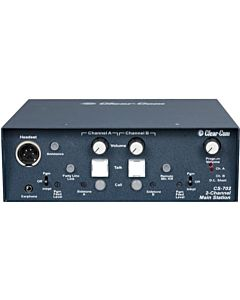 Clear Com CS-702 2-Channel Portable Headset Main Station