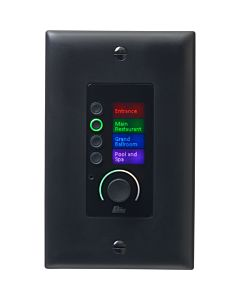 BSS EC-4BV Ethernet Controller with 4 Buttons and Volume (Black)