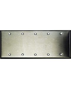 Whirlwind WP5/0H Wallplate (Stainless Steel)