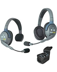 Eartec UL2SD UltraLITE 2-Person Headset System (Combo)