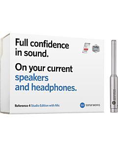 Sonarworks Reference 4 Studio Edition with Microphone