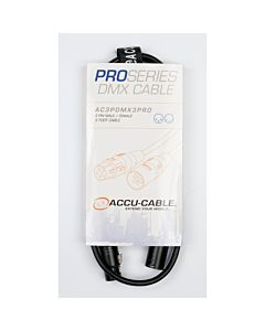 American DJ AC3PDMX3PRO 3-Pin Pro DMX Cable (3 ft.)
