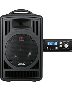 Galaxy Audio TV8 Traveler Portable PA System with UHF Receiver
