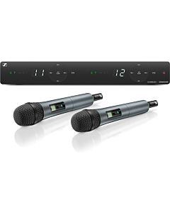 Sennheiser XSW 1-825 UHF Dual-Vocal System with Two e825 Handheld Microphones (A: 548-572 MHz)