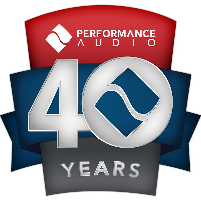 Performance Audio - 40 Years in the Pro Audio Business!