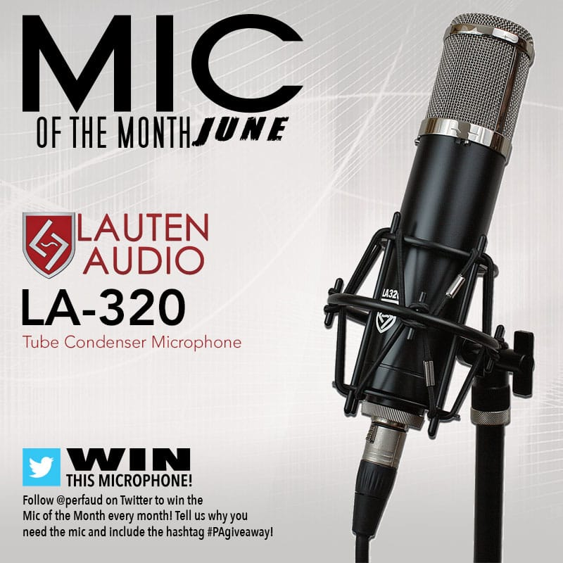 June's Mic of the Month: Lauten Audio LA-320