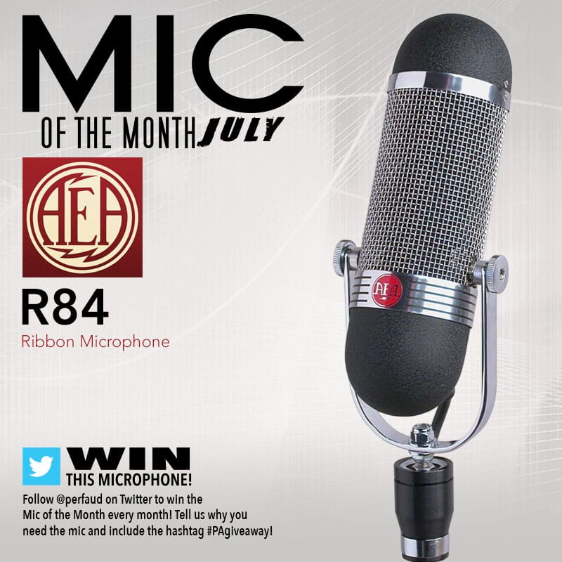 July's Mic of the Month: AEA R84