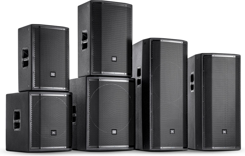 The New JBL PRX800 Series