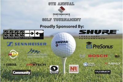Performance Audio Golf Tournament
