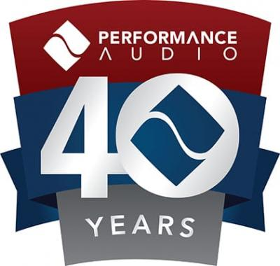 Performance Audio is Celebrating 40 Years in Business!