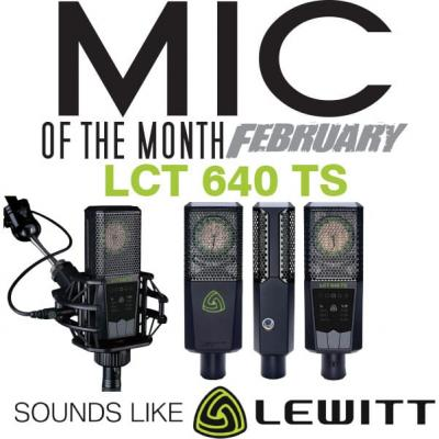 Mic of the Month - February 2017 - Lewitt LCT 640 TS