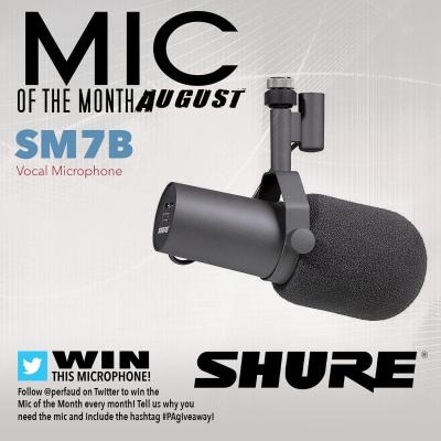 August's Mic of the Month: Shure SM7B