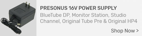 PreSonus 16V Power Supply