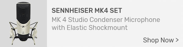 Sennheiser MK4 Set Studio Condenser Microphone with Shock Mount