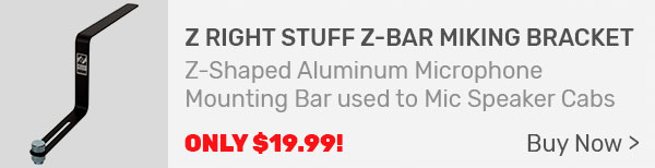 Z Right Stuff Z-Bar Miking Bracket